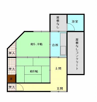 室戸市 浮津 賃貸物件(A11)