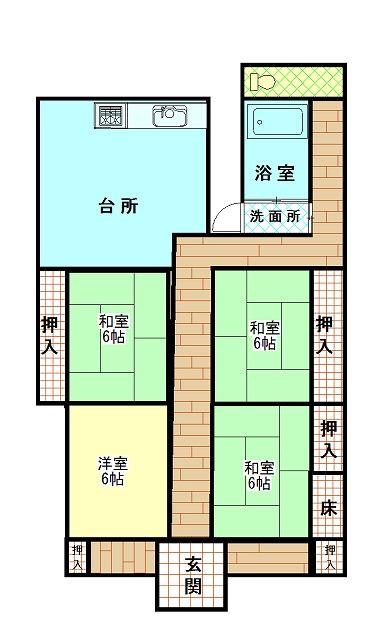 佐喜浜町 賃貸・売却物件(AB4)