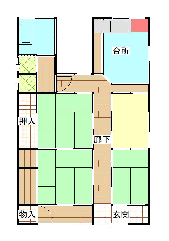 元甲 賃貸物件(A35)