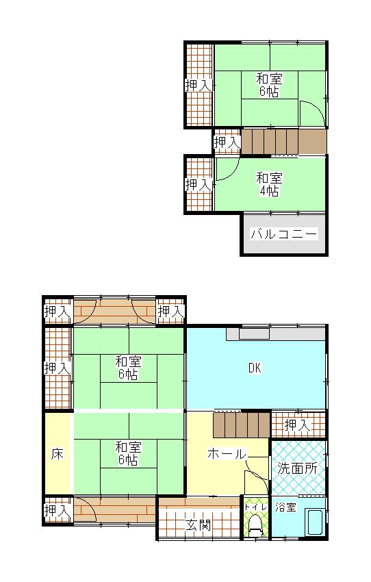 【要シロアリ駆除】羽根町 賃貸・売却物件(AB37)