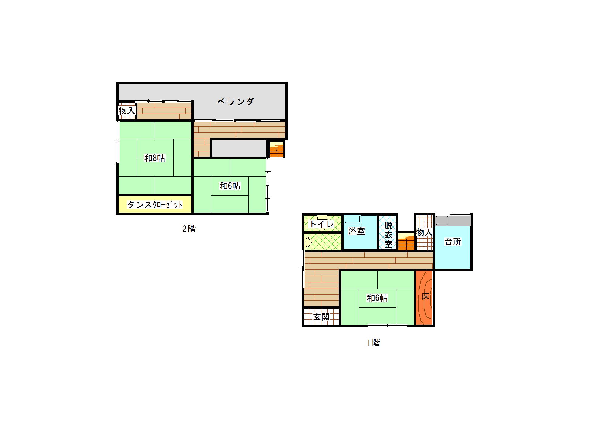 吉良川町 賃貸物件(A18)
