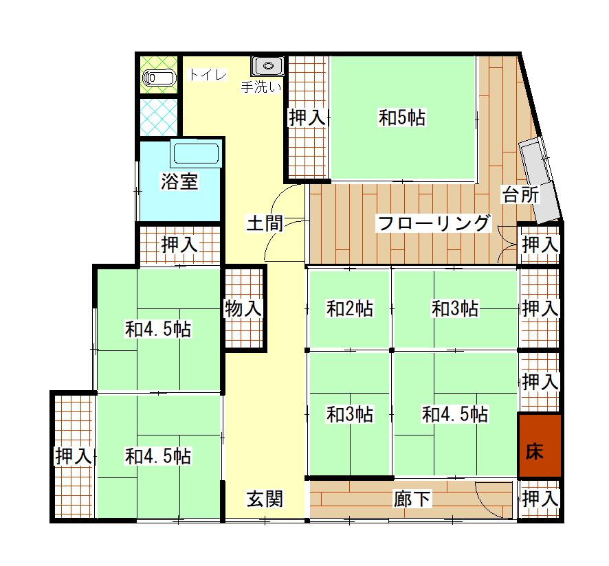 吉良川町 賃貸物件(A26)