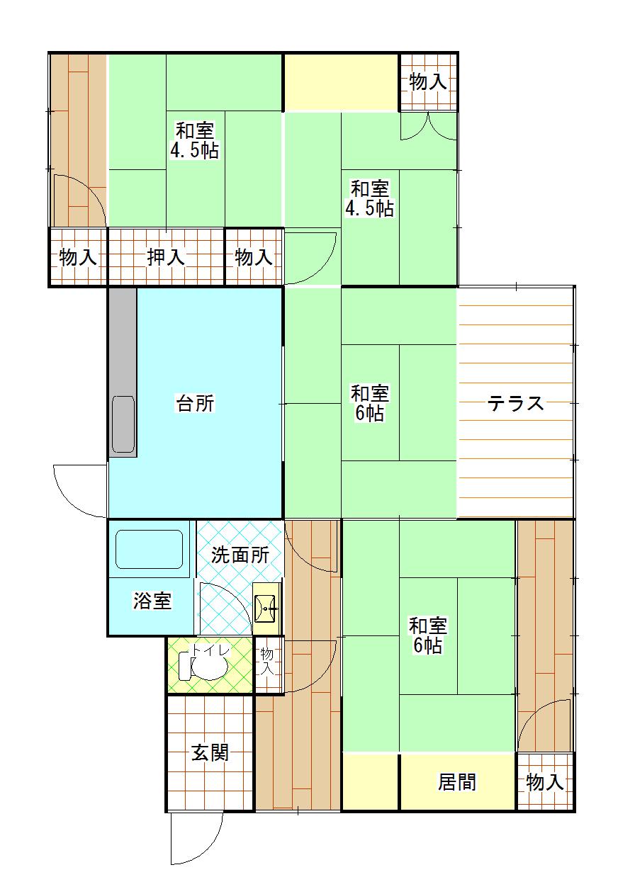 【要大規模改修】室戸市 浮津 売却物件(B12)